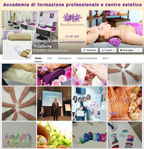Facebook Scuola Bea a Rivalta di Torino